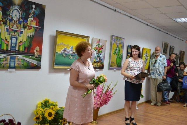 Від графіки до живопису: у виставковій залі відбулась виставка картин відомого архітектора, фото-7