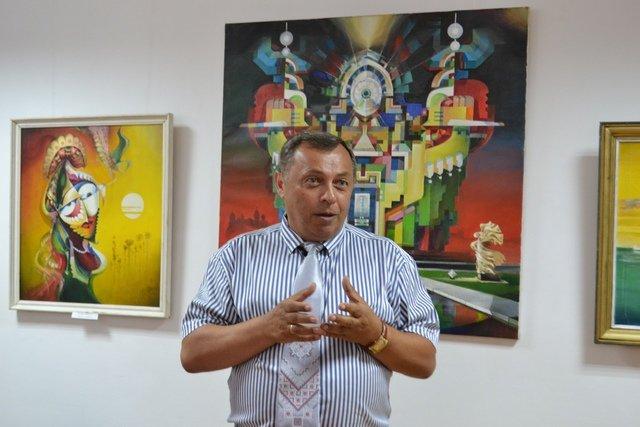 Від графіки до живопису: у виставковій залі відбулась виставка картин відомого архітектора, фото-6