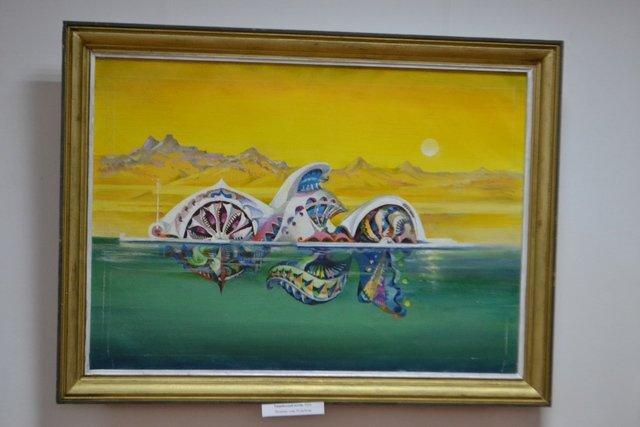 Від графіки до живопису: у виставковій залі відбулась виставка картин відомого архітектора, фото-9