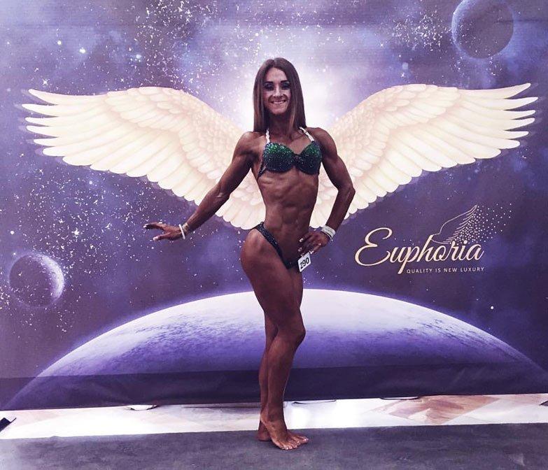 Кам'янецька лейтенантка стала призеркою Чемпіонату Європи з бодіфітнесу, фото-3
