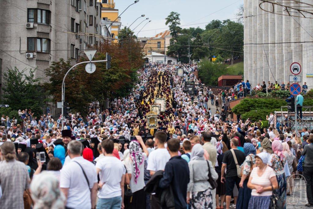 З нагоди 1030-ліття Хрещення Русі 250 тисяч віруючих взяли участь у Хресному ході , фото-5