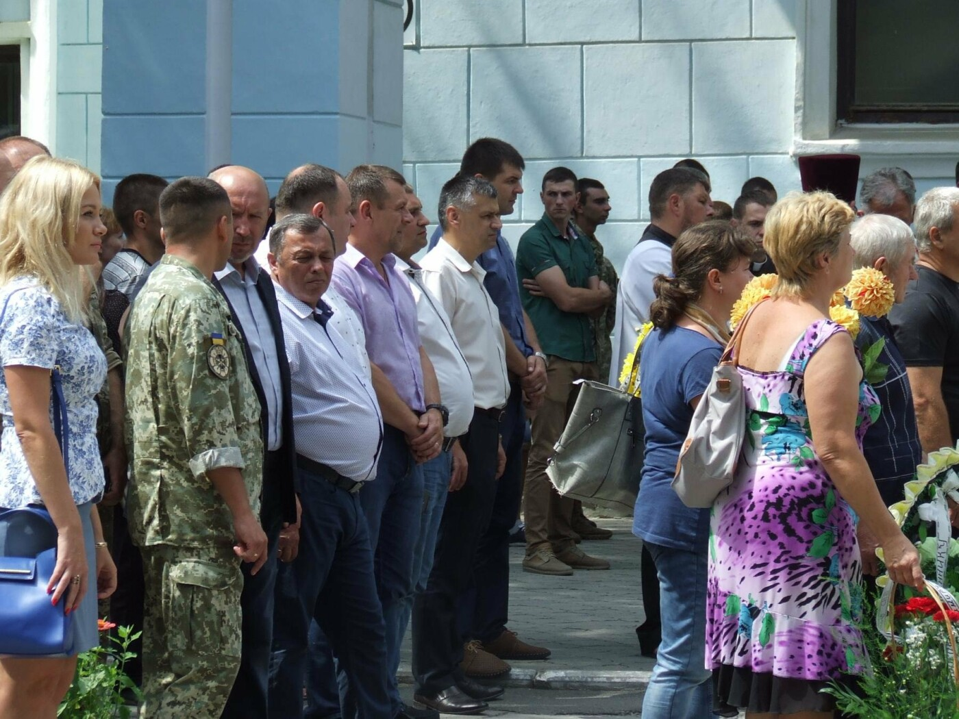 Кам'янчани попрощалися із захисником Донецького аеропорту Володимиром Откідичем, фото-8