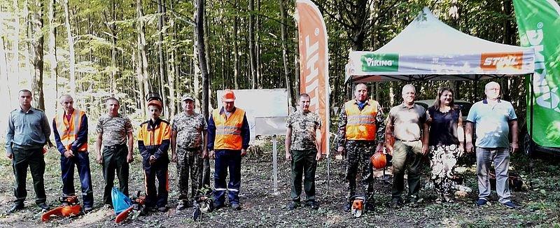 Кам'янець-Подільський лісгосп провів конкурс звалювальників лісу, фото-2
