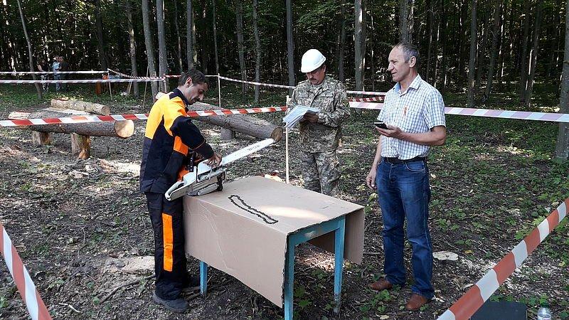 Кам'янець-Подільський лісгосп провів конкурс звалювальників лісу, фото-4