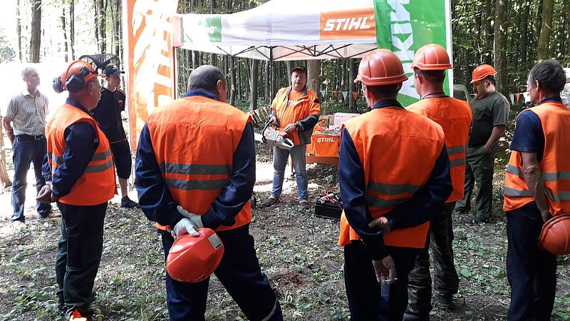 Кам'янець-Подільський лісгосп провів конкурс звалювальників лісу, фото-3