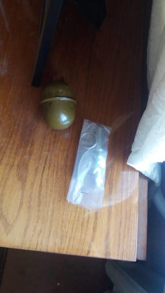 Під час обшуку в кам'янчанина виявили бойову гранату, фото-1
