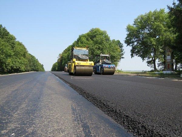 Ремонтні роботи на автодорозі поблизу м. Дунаївці завершуються, -  прес-служба САД у Хмельницькій області, фото-2