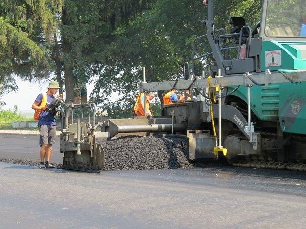 Ремонтні роботи на автодорозі поблизу м. Дунаївці завершуються, -  прес-служба САД у Хмельницькій області, фото-3