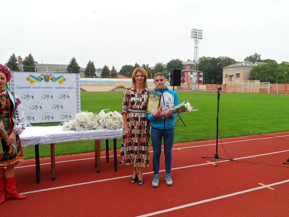 Кам'янецьких спортсменів відзначили під час святкування Дня фізичної культури та спорту в Хмельницькому, фото-2