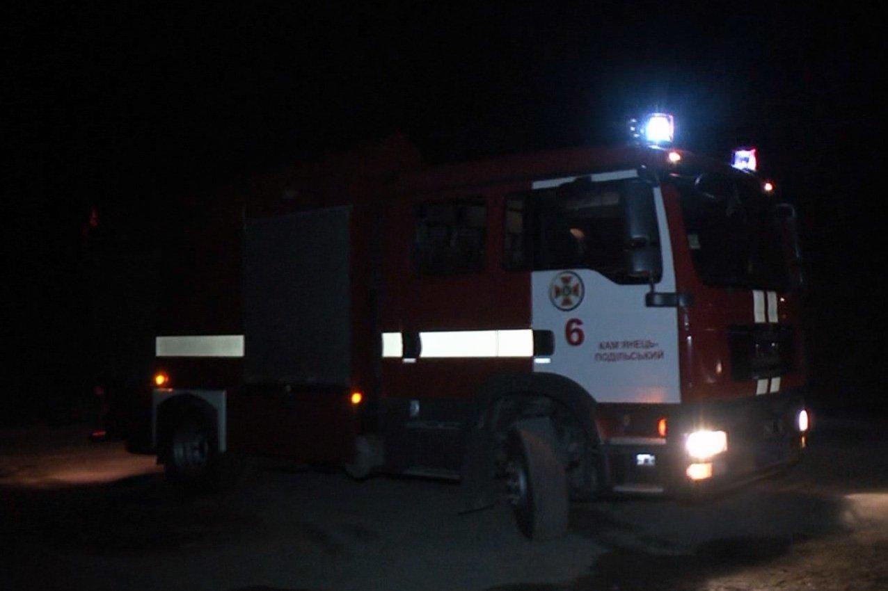 Масштабна пожежа на Кам'ячнеччині (Відео), фото-1