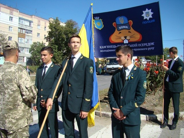 """У Кам'янці студенти провели патріотичну акцію """"Ланцюг миру"""", фото-9"""