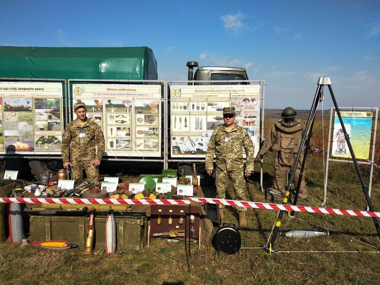 Військовослужбовці Центру розмінування взяли участь у проведенні заходів 14 окремого Пилявецького Потягу, фото-6