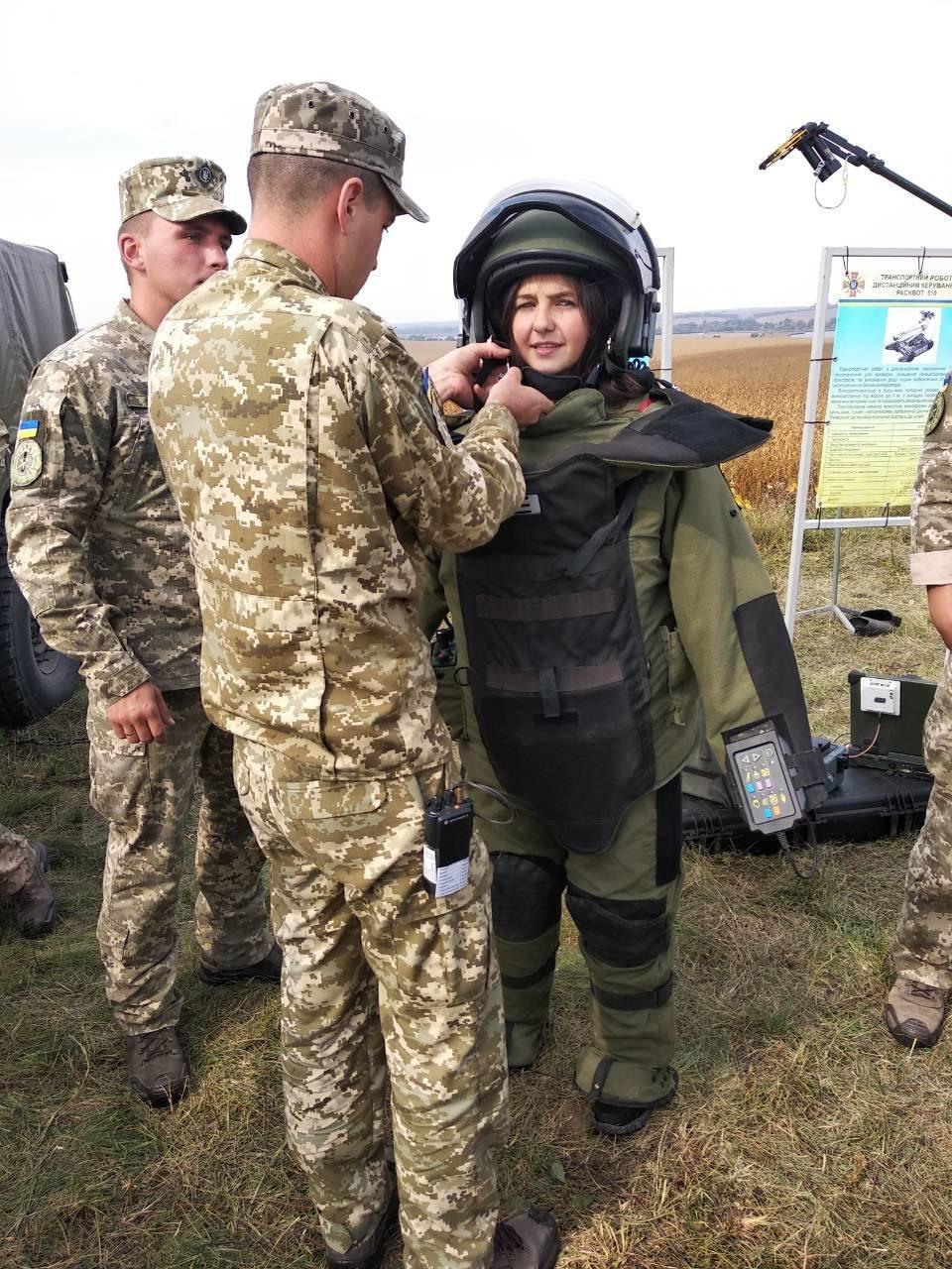 Військовослужбовці Центру розмінування взяли участь у проведенні заходів 14 окремого Пилявецького Потягу, фото-8