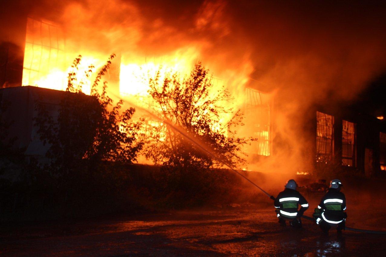 Масштабна пожежа на деревообробному підприємстві у Дунаївцях: на місці пригоди загинув рятувальник, фото-2