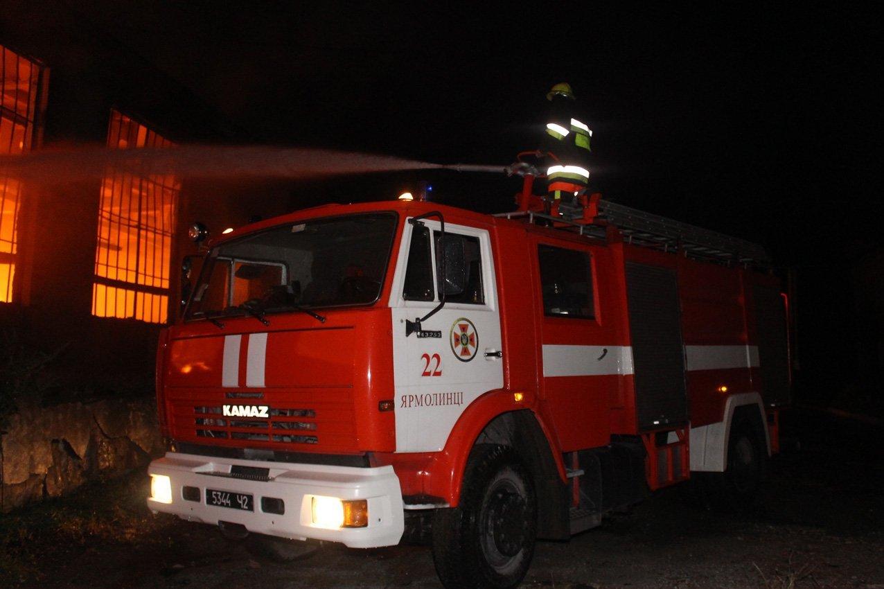 Масштабна пожежа на деревообробному підприємстві у Дунаївцях: на місці пригоди загинув рятувальник, фото-3