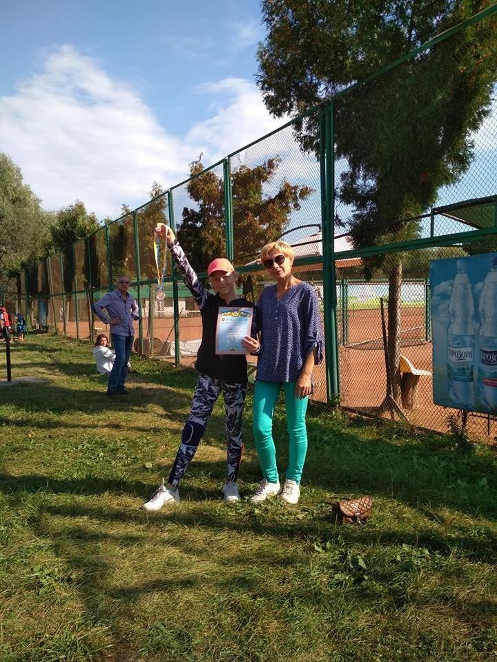 Юні тенісисти із Кам'янця гідно представили місто на кубку області, фото-1