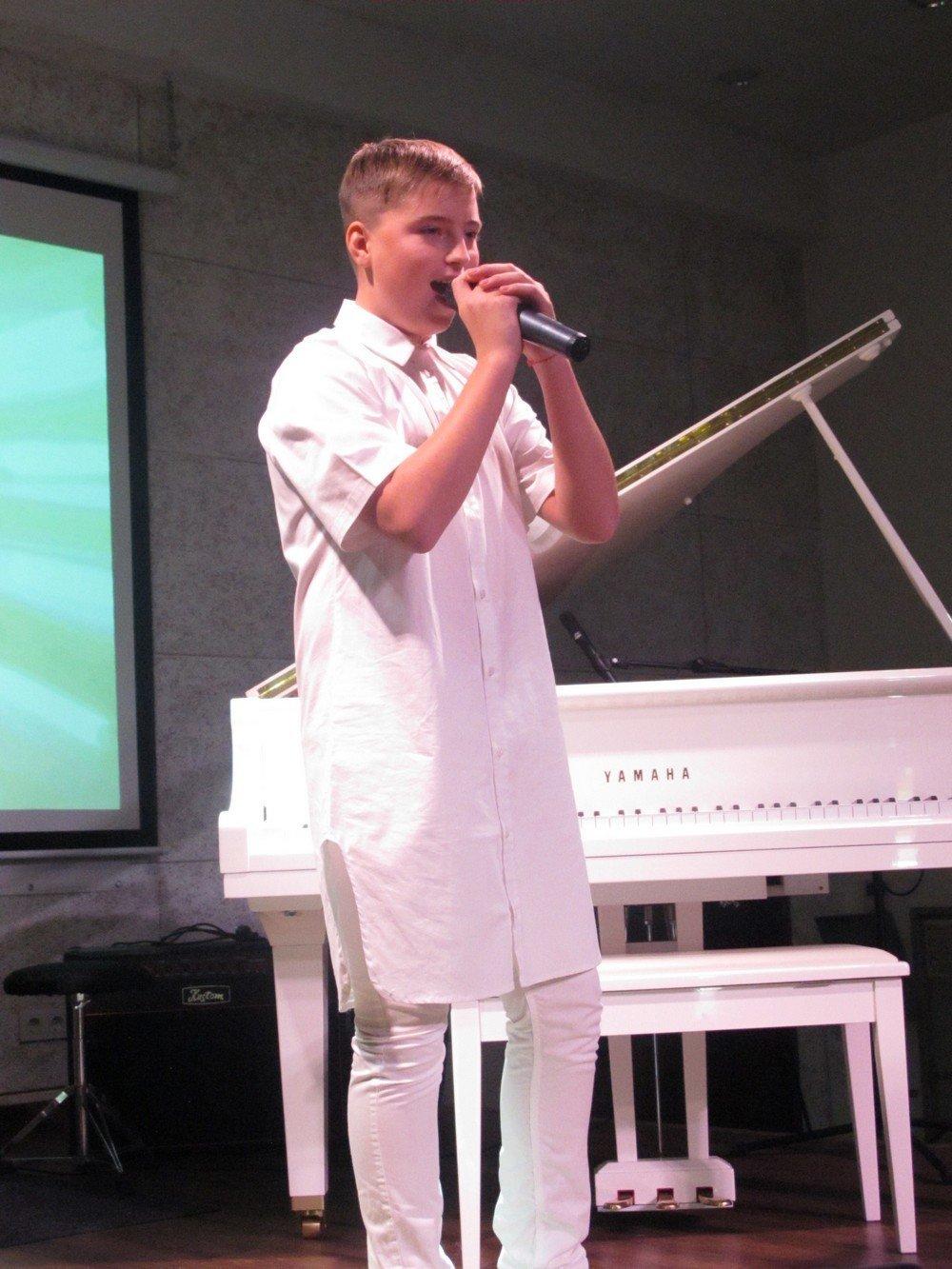 Юний вокаліст із Кам'янця виборов Гран-прі на престижному фестивалі, фото-1
