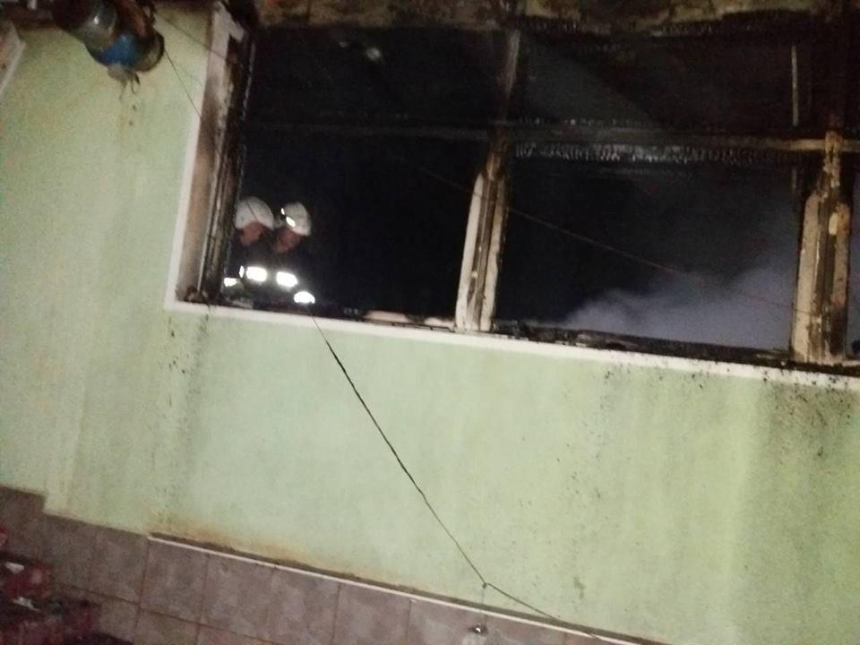 На мікрорайоні Жовтневому горіло нежитлове приміщення, фото-2