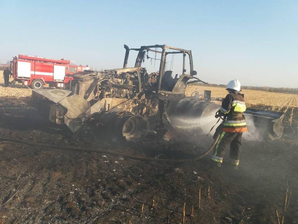 На Кам'янеччині сталась пожежа на полі, фото-3