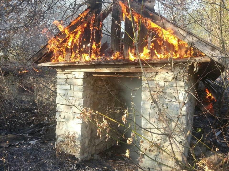 Пожежа у селі Слобідка Кульчієвецька, фото-1