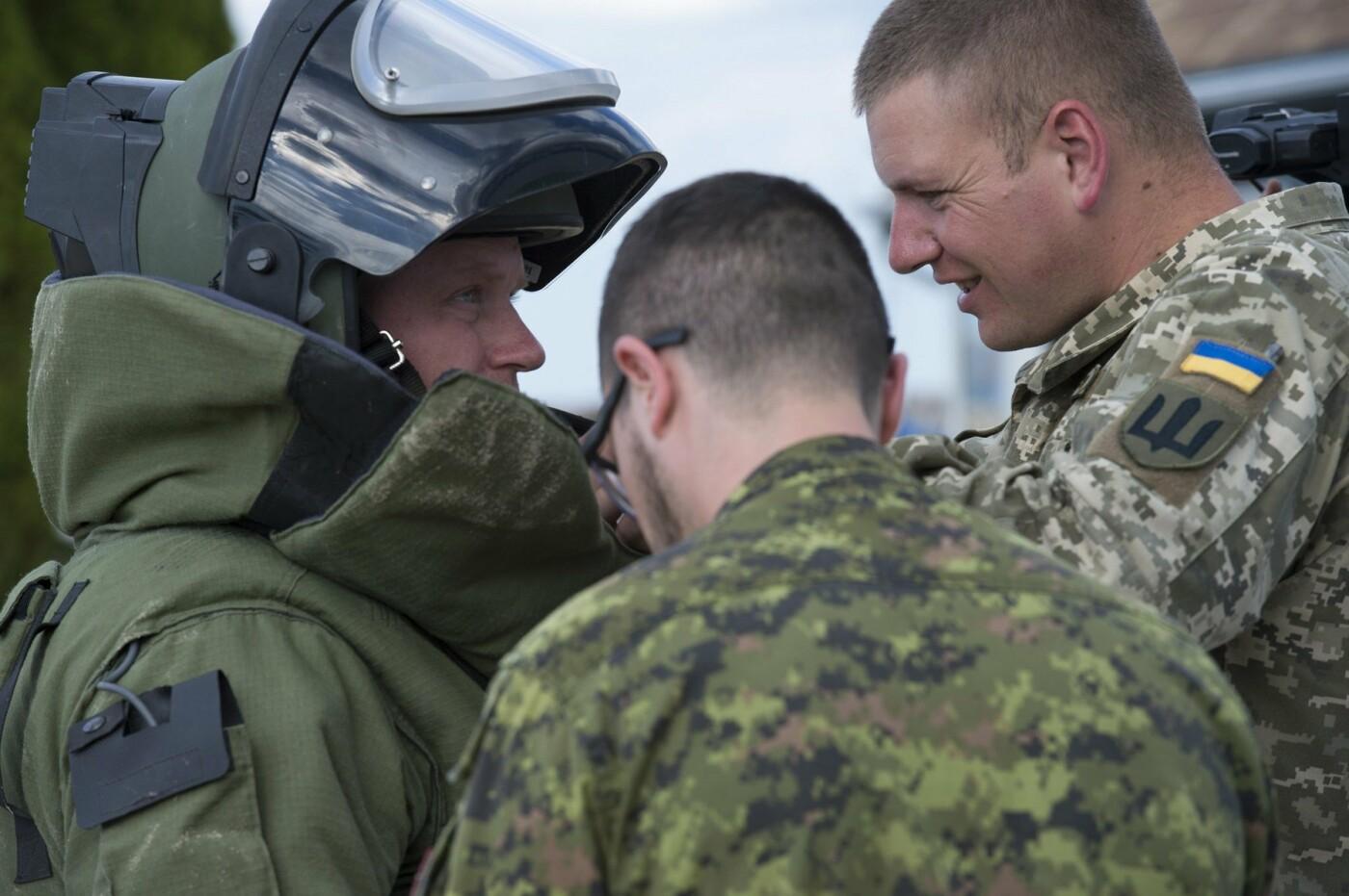 """У протидії вибуховим пристроям на """"Ardent Defender - 18"""" українські сапери найкращі, фото-5"""