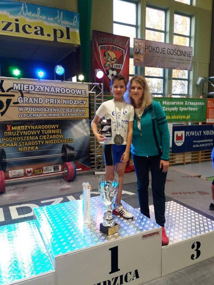 На міжнародному турнірі з важкої атлетики призером став вихованець спортивної школи №1, фото-1