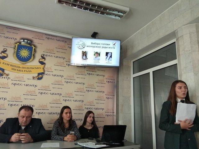 Студентка медичного училища стала головою Молодіжної ради Кам'янця, фото-3