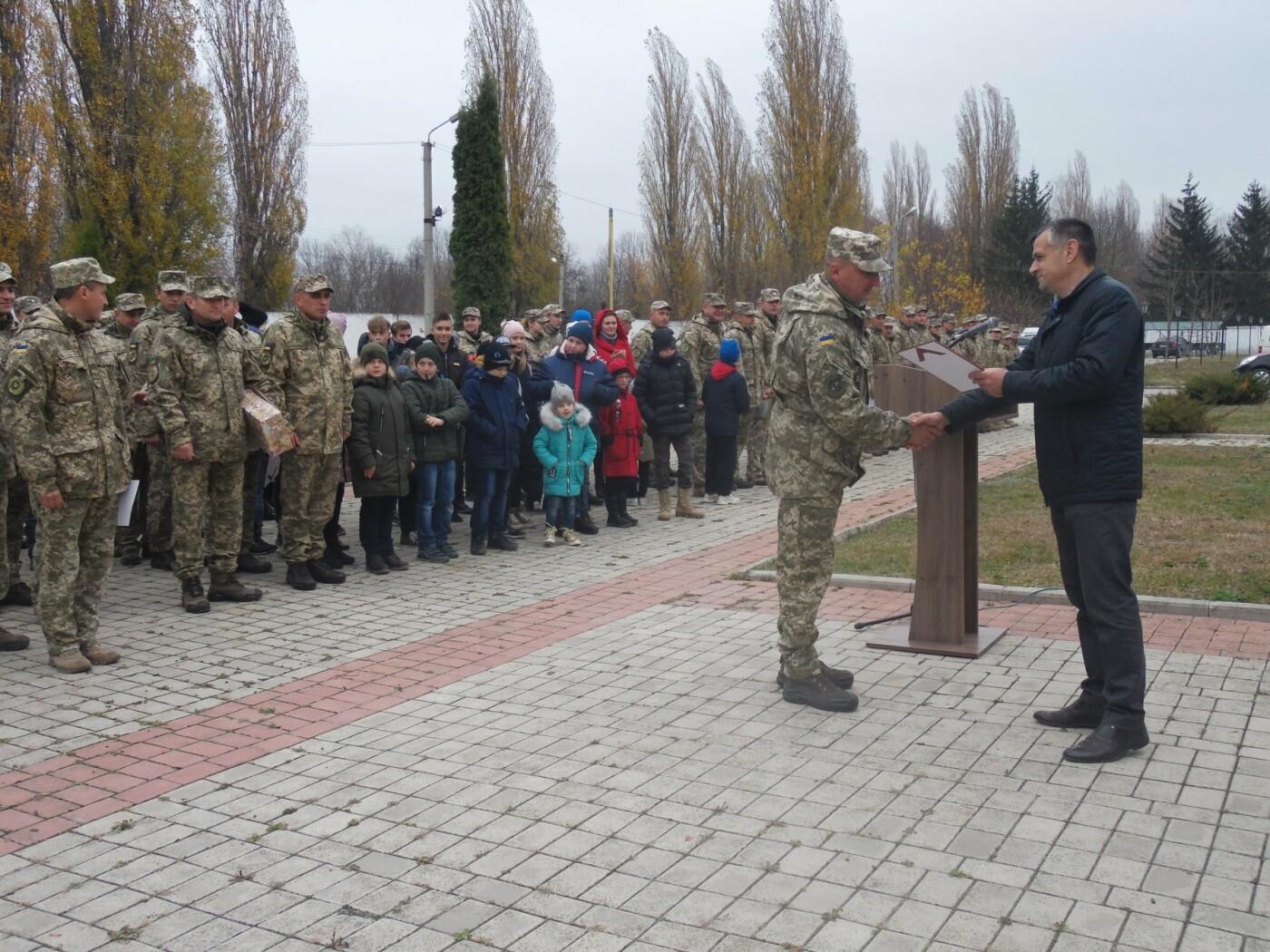 До строю військовослужбовців Центру розмінування, з нагоди Дня інженерних військ, стали їхні діти, фото-11