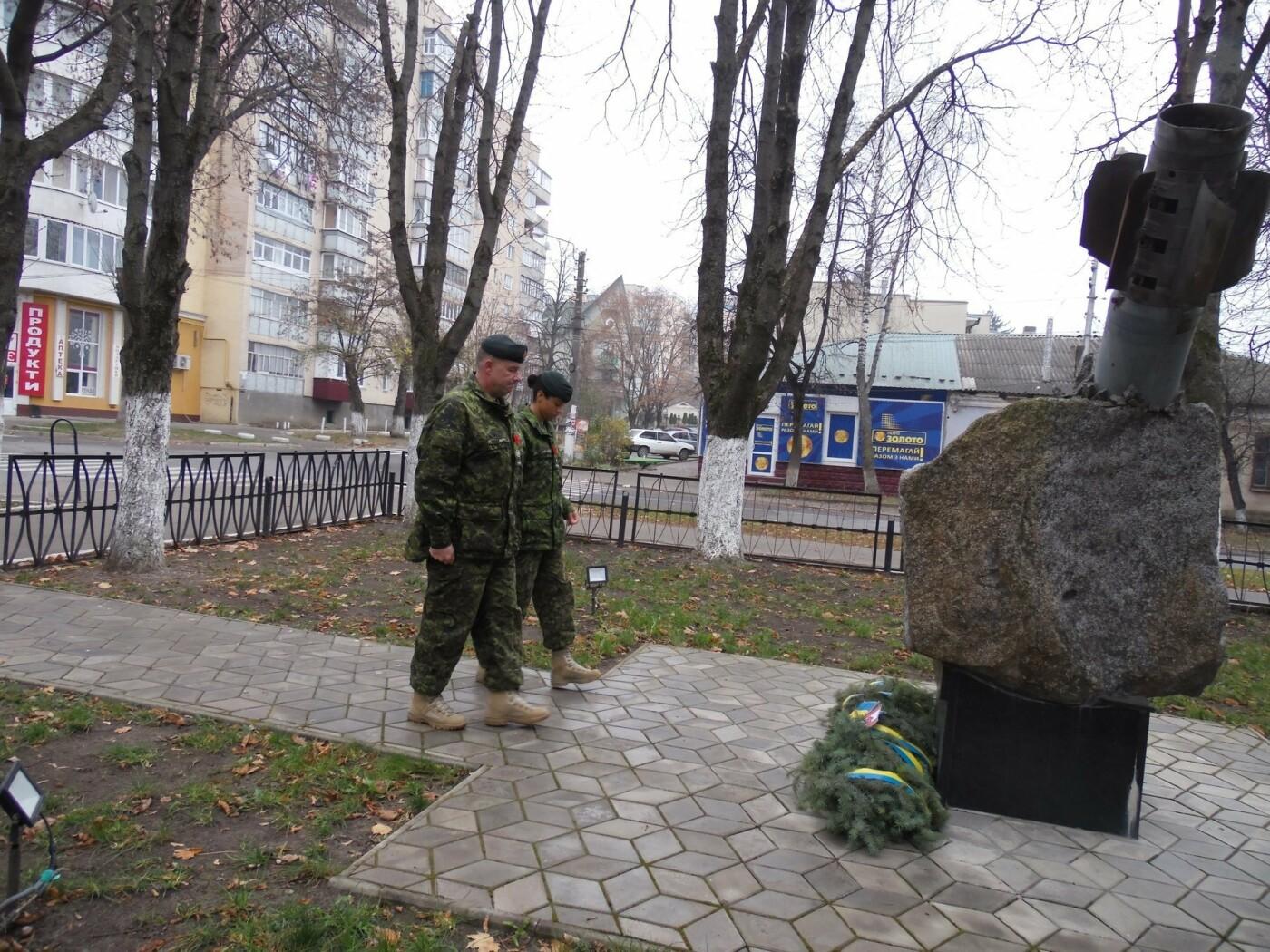 У Кам'янці-Подільському українські та канадські військовослужбовці вшанували пам'ять усіх, хто у різні роки не повернувся з поля бою, фото-14