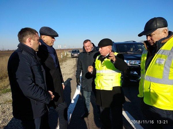 """Заступник Міністра інфраструктури інспектував """"Тещин язик"""" та інші дороги Хмельниччини, фото-3"""
