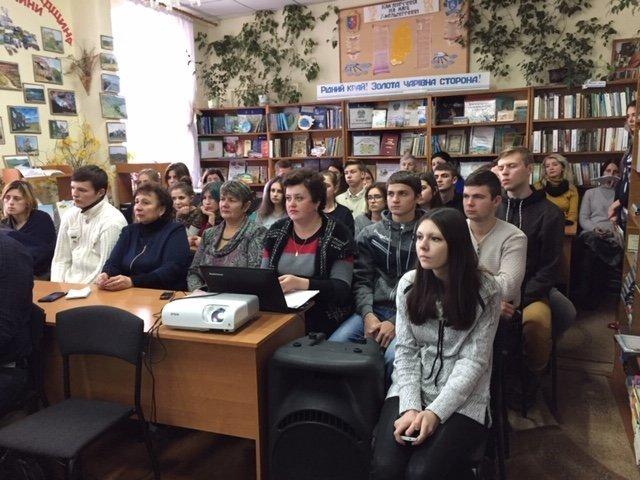 """""""Це твоя і моя війна"""": пам'ять про Миколу Гордійчука зібрала кам'янчан у районній бібліотеці, фото-1"""
