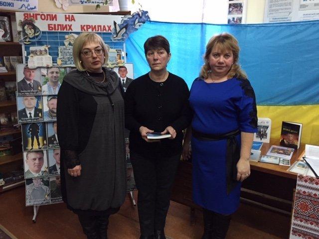 """""""Це твоя і моя війна"""": пам'ять про Миколу Гордійчука зібрала кам'янчан у районній бібліотеці, фото-4"""