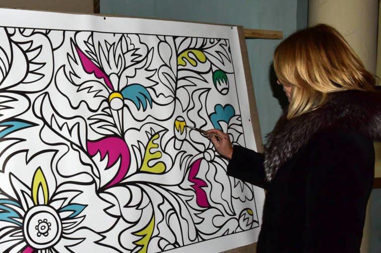 На Хмельниччині в оригінальний спосіб привернули увагу до художнього розпису, фото-2