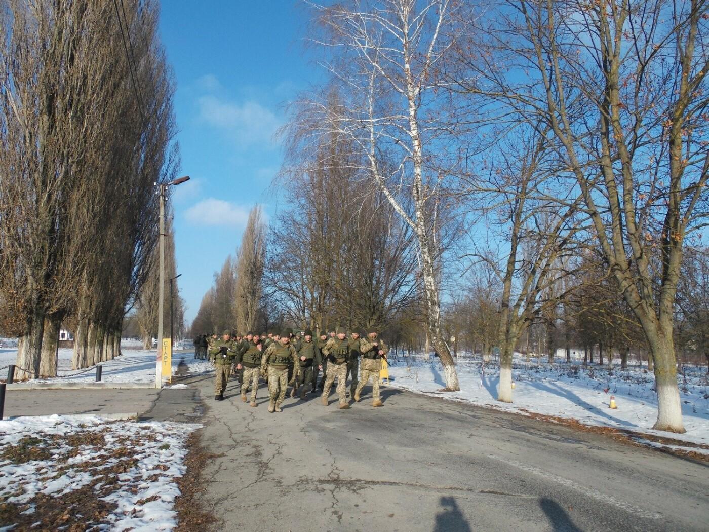 5-кілометровий марш-кидок зі штатною зброєю з нагоди 27-річниці Збройних Сил України, фото-5