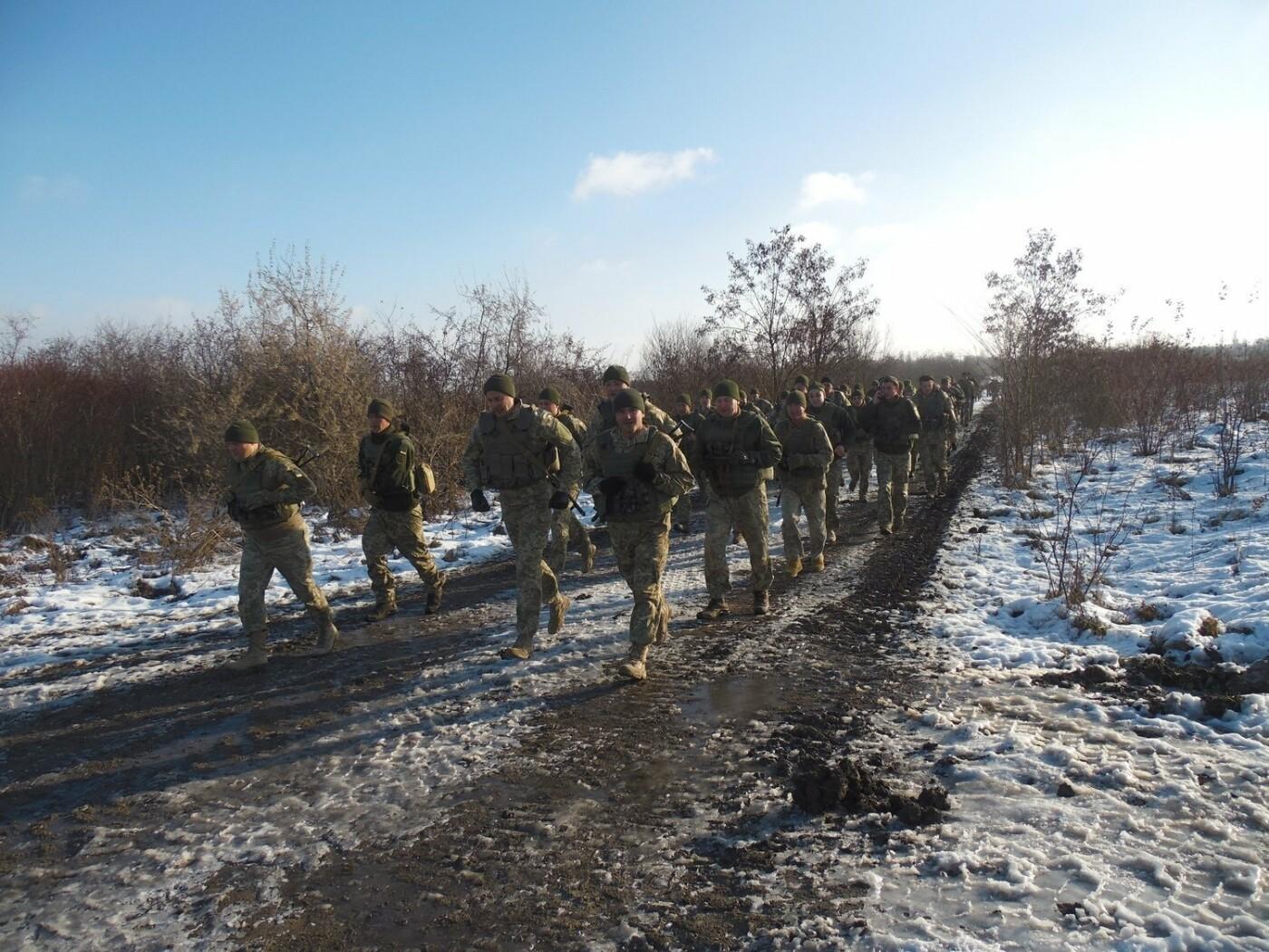 5-кілометровий марш-кидок зі штатною зброєю з нагоди 27-річниці Збройних Сил України, фото-2