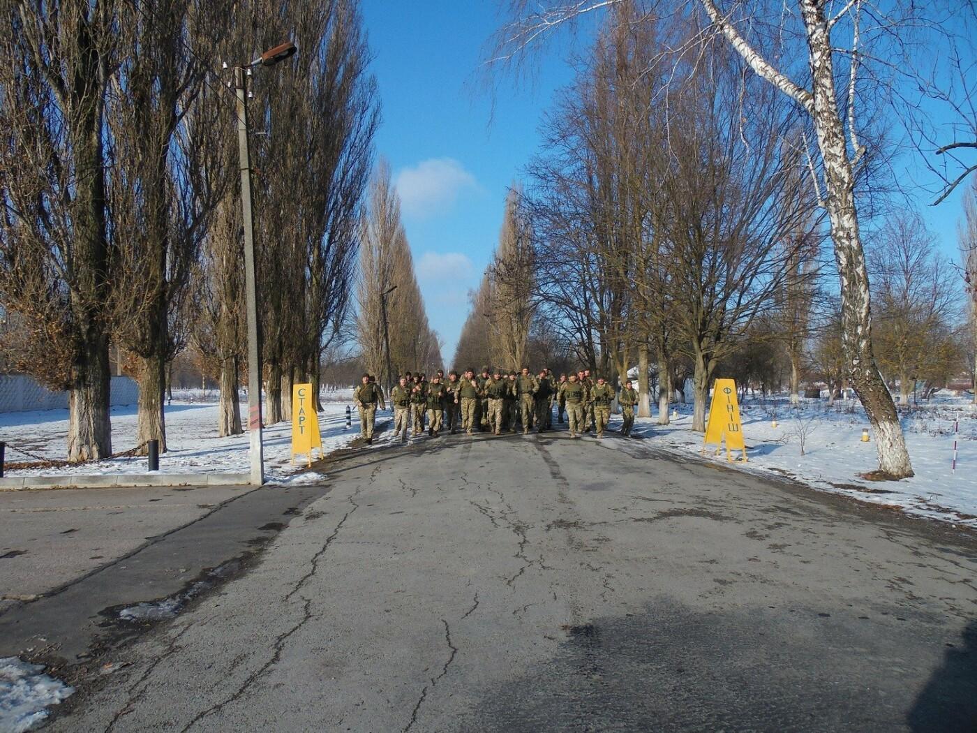 5-кілометровий марш-кидок зі штатною зброєю з нагоди 27-річниці Збройних Сил України, фото-6