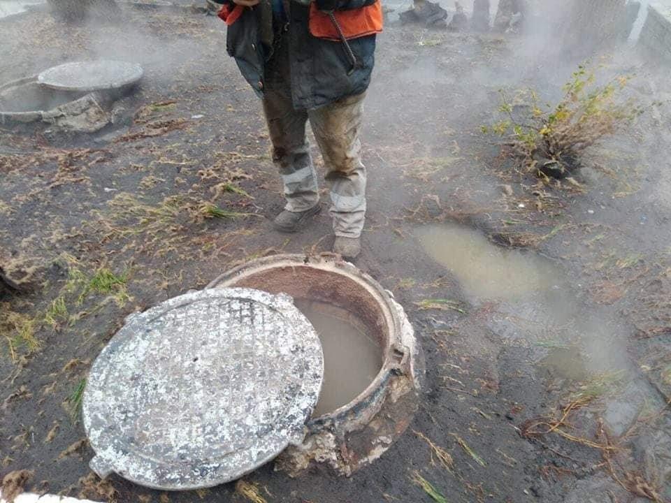 Пошкодження тепломережі на Пушкінській залишило без тепла чотири вулиці, фото-1