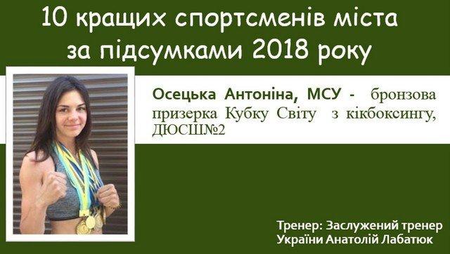 Спортивні підсумки 2018 року: ТОП-10 кращих спортсменів Кам'янця-Подільського, фото-2
