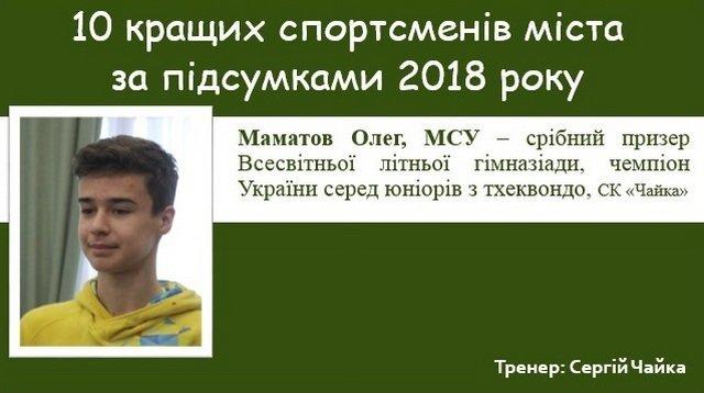 Спортивні підсумки 2018 року: ТОП-10 кращих спортсменів Кам'янця-Подільського, фото-5