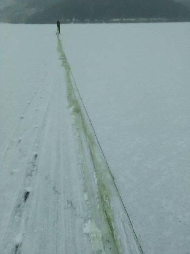 Понад кілометр сіток вилучено на річках Хмельниччини, фото-6