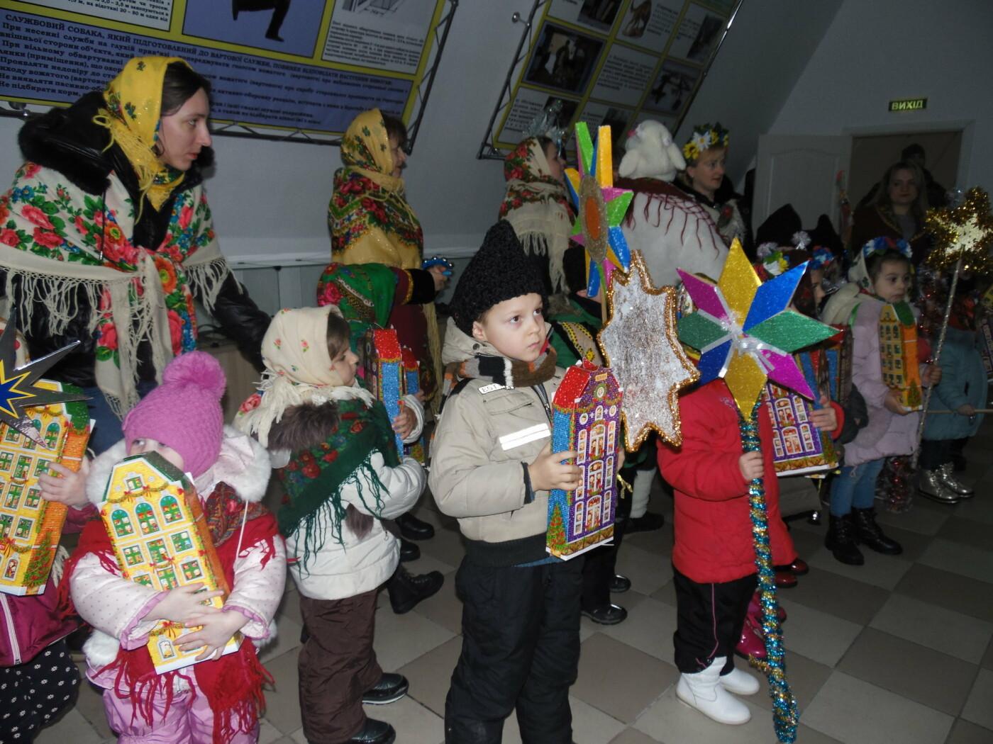 До військовослужбовців Центру розмінування з колядками і щедрівками завітали дітки з підшефного дитсадочка, фото-5