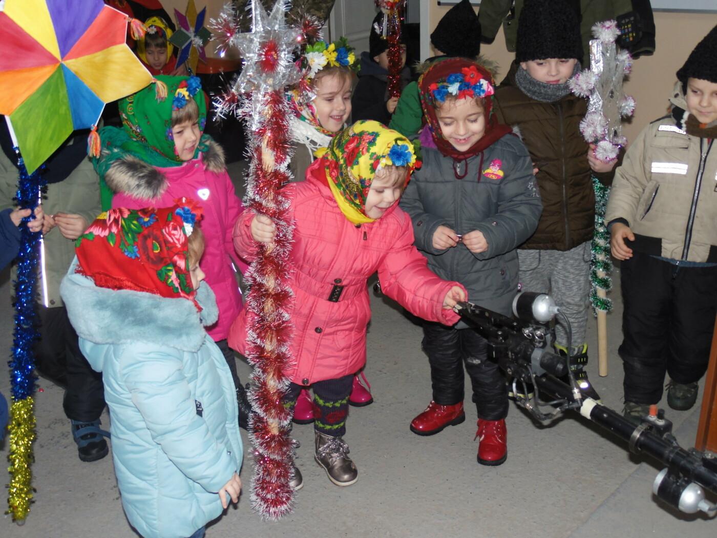 До військовослужбовців Центру розмінування з колядками і щедрівками завітали дітки з підшефного дитсадочка, фото-11