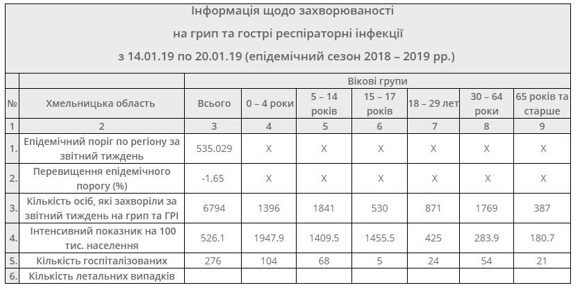 Станом на 20 січня грип та ГРВІ у Кам'янці не відступає, фото-1