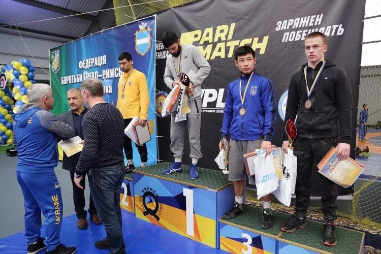 Чемпіонат України з греко-римської боротьби, фото-1