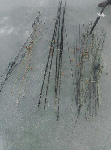 На Хмельниччині з початку лютого вилучено понад 100 метрів сіток, фото-3
