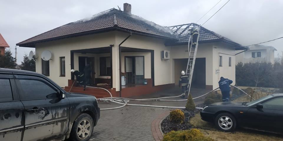 Пожежа житлового будинку  у селі Довжок, фото-1