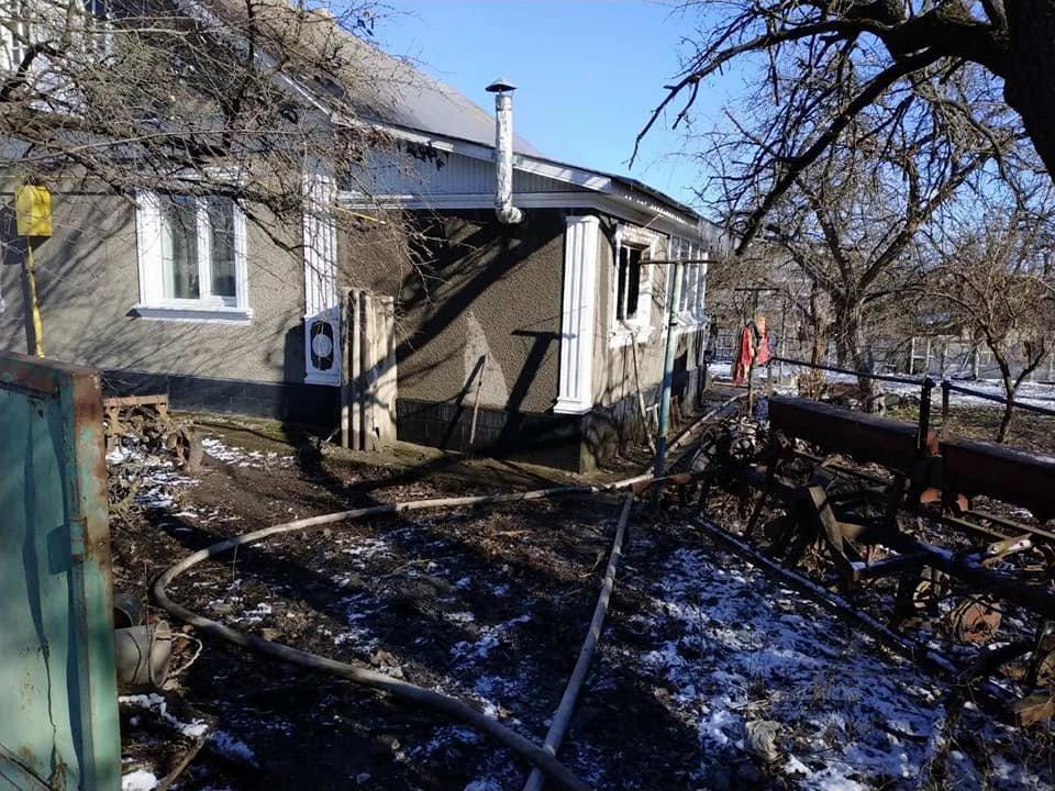 У селі Кам'янка горів житловий будинок, фото-5