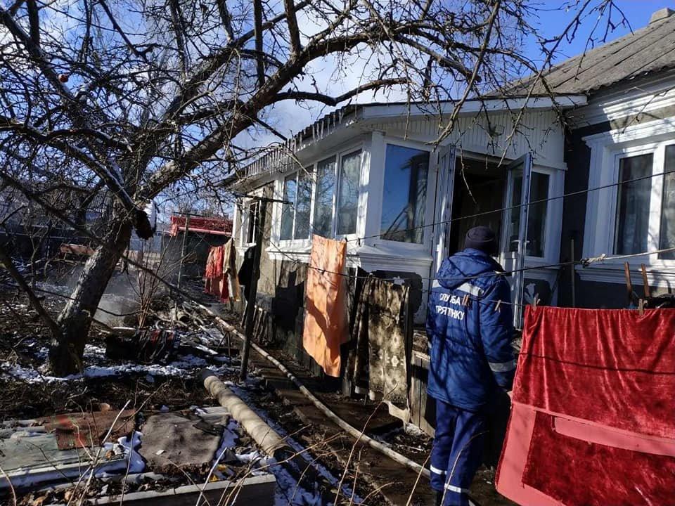 У селі Кам'янка горів житловий будинок, фото-7