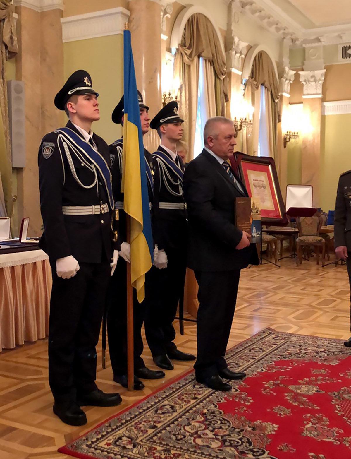 """Ректора ПДАТУ нагороджено орденом """"Лицар Вітчизни"""" ІІ ступеня, фото-1"""