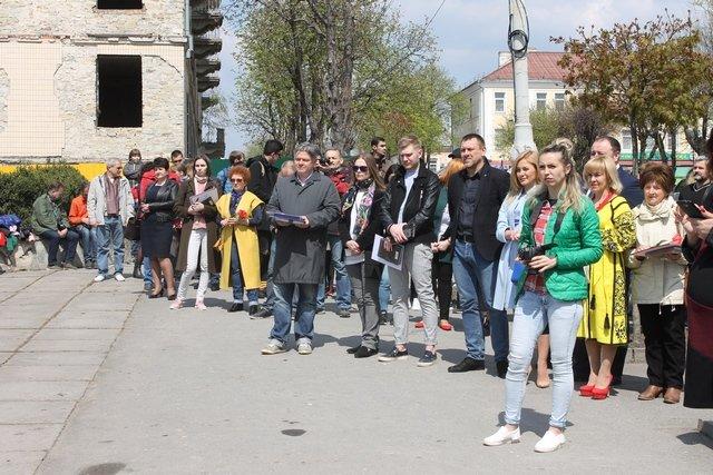 У Кам'янці заклали перший камінь Меморіалу Присязі на вірність Україні, фото-8